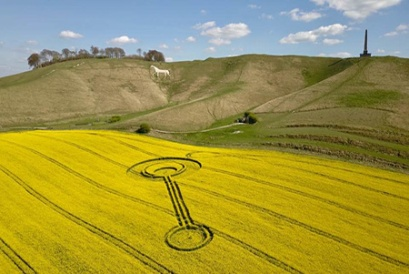 The Cherhill White Horse - is a hill figure on Cherhill Down and one of the first to be created